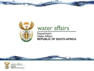 Status Report on Water User Associations in South Africa