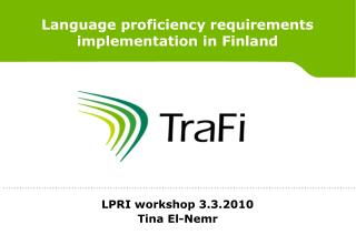 Language proficiency requirements implementation in Finland