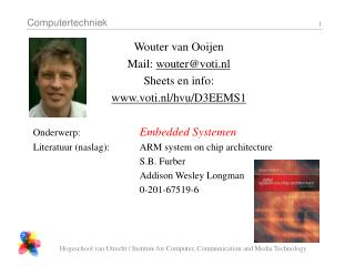 Wouter van Ooijen Mail:  wouter@voti.nl Sheets en info: voti.nl/hvu/D3EEMS1