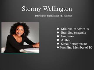 Stormy Wellington