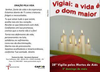 28ª Vigília pelos Mortos de Aids