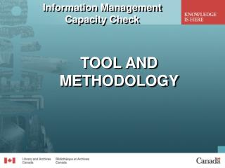 Information Management Capacity Check