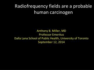 The Toxicology of Tamoxifen