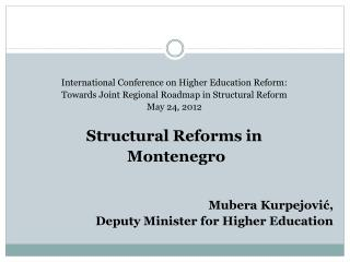 International Conference on Higher Education Reform: