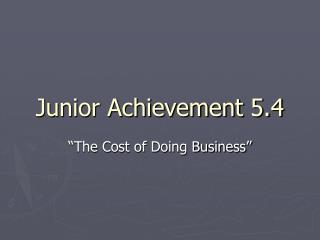 Junior Achievement 5.4