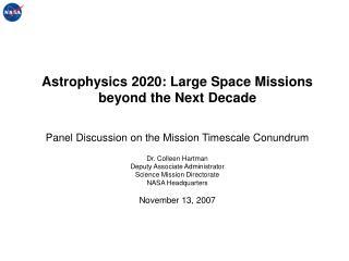 Mission Timescale Conundrum