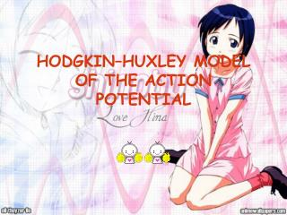 HODGKIN–HUXLEY MODEL OF THE ACTION POTENTIAL