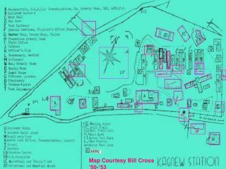 Map Courtesy Bill Cross '50-'53