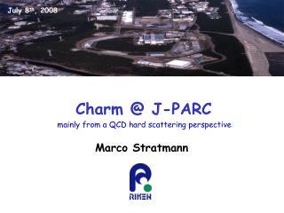Charm @ J-PARC