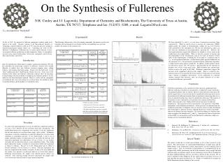 On the Synthesis of Fullerenes