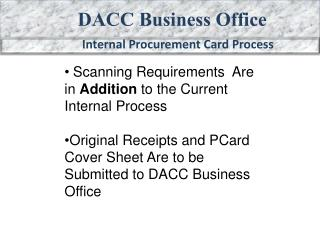 DACC Business Office
