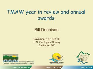 TMAW year in review and annual awards