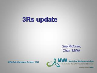 3Rs update