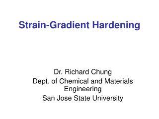 Strain-Gradient Hardening