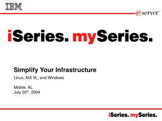 Simplify Your Infrastructure