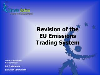 Revision of the EU Emissions Trading System