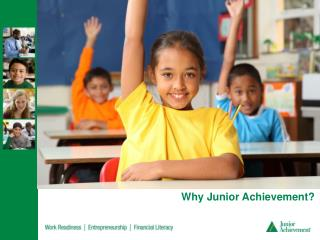 Why Junior Achievement?