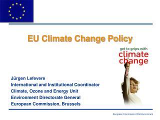 EU Climate Change Policy