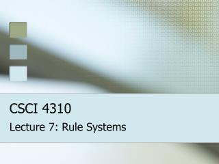 CSCI 4310