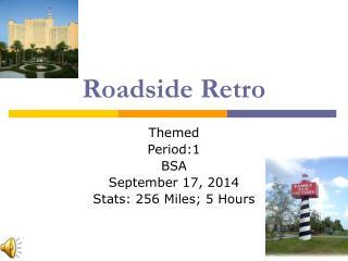 Roadside Retro