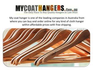 Buy all kind of cloth hanger online