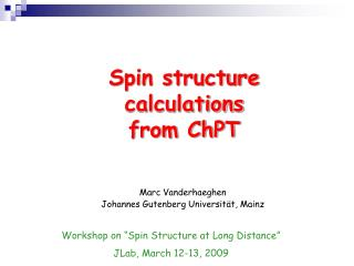 Spin structure  calculations  from ChPT