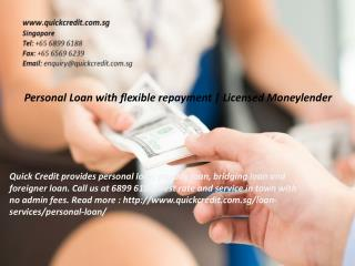 Personal Loan with flexible repayment
