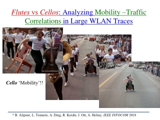 Lecture 2: Types of Traffic Studies