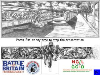 Press 'Esc' at any time to stop the presentation