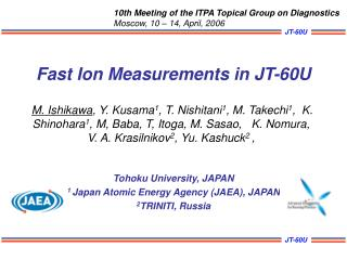 Fast Ion Measurements in JT-60U