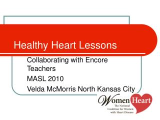 Healthy Heart Lessons