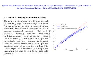 A. Quantum embedding in multi-scale modeling