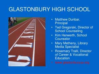 GLASTONBURY HIGH SCHOOL