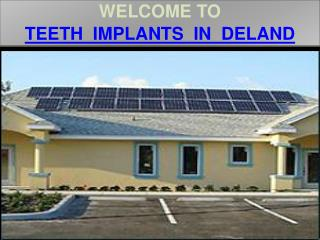 Teeth Implants In Deland