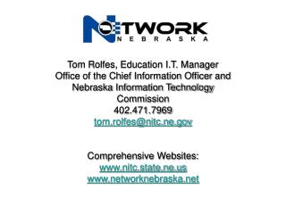 Tom Rolfes, Education I.T. Manager