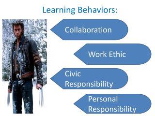 Learning Behaviors:
