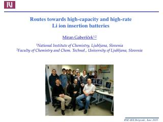 Routes towards high-capacity and high-rate Li ion insertion batteries