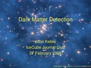 Dark Matter Detection