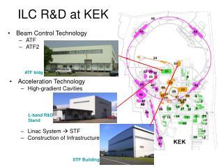 ILC R&D at KEK