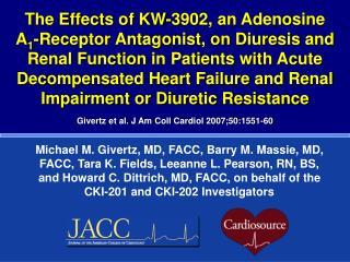 Givertz et al. J Am Coll Cardiol 2007;50:1551-60