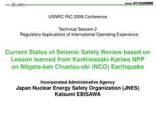 A. Nuclear Safety Regulation in Japan