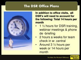 The DSR Office Plans
