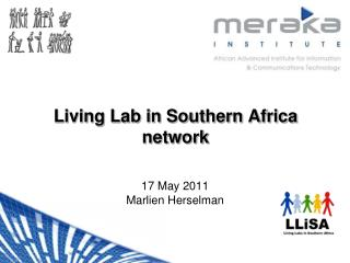 Living Lab in Southern Africa network