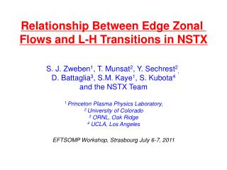 Relationship Between Edge Zonal  Flows and L-H Transitions in NSTX