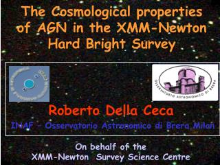 On behalf of the  XMM-Newton  Survey Science Centre