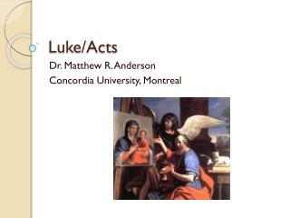 Luke/Acts