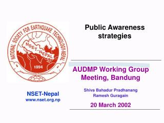 Public Awareness strategies