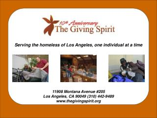 Serving the homeless of Los Angeles, one individual at a time