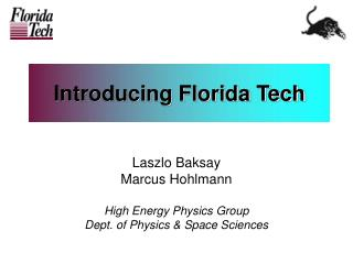 Introducing Florida Tech