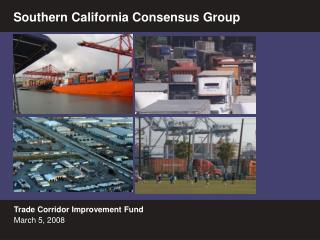 Trade Corridor Improvement Fund  March 5, 2008
